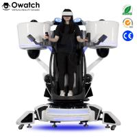 Latest Publish Game Equipment Exciting Shooting 9D Vr Standing Platform Fly Motion Simulator Manufactures