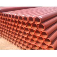 Industrial Stock Seamless Steel Pipes Iron Steel Mateiral For Concrete Convey