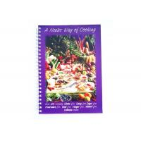 Personalised Softcover Book Printing Wire Bound Binding For Cook Book Publishing Manufactures