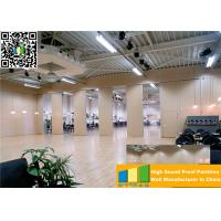 Cheap Aluminum High Partition Acoustic Soundproof Multilayer Structure Sliding Room Dividers for sale