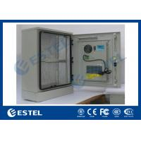 Single Wall Stainless Steel Outdoor Telecom Cabinet With Cooling System / Air Conditioner Type Telecom Enclosure Manufactures