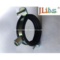 Cheap Cast Iron Pipe Round Pipe Clamps Gi Pipe Clamp With M8 M10 Combi Nut And Rubber And Bolt for sale