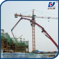 Cheap TC5612 Electric Tower Crane 56m Jib 1.2t load Fixed Type Cost for sale