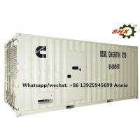Three Phase 1000KW Industrial Container Diesel Genset Water Cooled 400V Manufactures