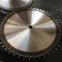 High quality 120B big sprocekt 120B48t 45C hardened teeth chain sprocket Manufactures