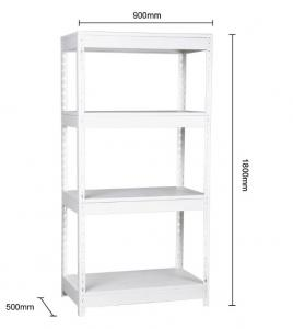 Multi Level Heavy Weight SGS 1800MM Metal Office Bookshelf Manufactures