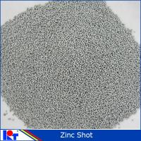 Quality Metal Abrasive 0.8mm 1.0mm Zinc cut wire shot in China for Sand Blasting System for sale