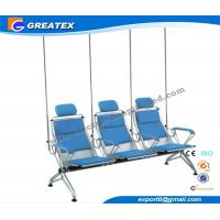 Comfortable Steel Manual Hospital Infusion / Transfusion Chair With PU Cushion Manufactures