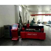 Fiber Sheet Metal Laser Cutter With Military Production Workshop , High Performance