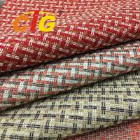 Colorful Furniture Upholstery Material Shrink Resistant 180-270g/Sqm Weight Manufactures