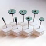 Heat Resistant Dental Zirconia Abrasive Tools , Ceramic Diamond Zirconia