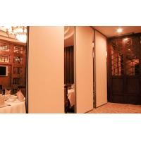 Acoustic Wooden Folding Screen Room Divider For Restaurant Decorative Manufactures