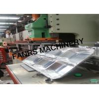 Multiple Cavity Moulds Aluminum Foil Container Machine With Siemens CPU Controller PLC