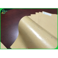 Buy cheap 787mm 250g Brown Kraft Paper With 15g PE Coated For Pizza Box Oilproof FSC from wholesalers