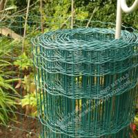 Euro Fence Heavy Duty Welded Wire High Strength With  2.0 / 2.5mm Diameter Manufactures