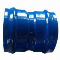 Buy cheap PVC double socket bend, measures DN 50 to DN 500 from wholesalers