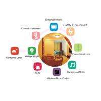 High Security Smart Hotel Solutions , Hotel Guest Room Control System  Intelligent   Wireless Manufactures