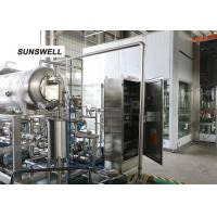 18000BPH Glass Bottled  Beverage Filling Machine For  Cola   Use Normal Temperature Manufactures