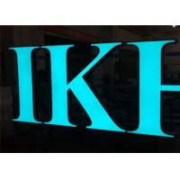 Frontlit Custom Channel Letter Signs, Waterproof Outdoor DC12V Acrylic Material Manufactures
