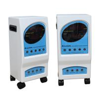 Professional Rectangle Electrostatic Therapy Machine With Blue White Wheel Manufactures