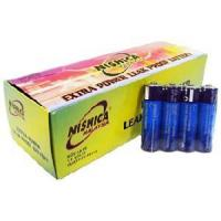 Buy cheap R6 AA Battery with Full Box Packing (Nishica) from wholesalers