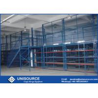 China Metal Frame Pallet Rack Supported Mezzanine Plywood Board Multi Level Floor on sale