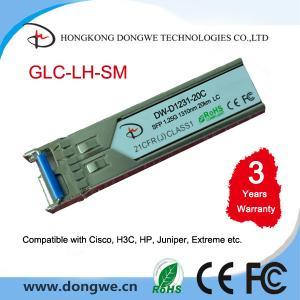 1310nm 20km 1.25G SFP GLC-LH-SM Manufactures