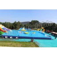Popular Inflatable Water Activities , Amusement Water Parks With CE Certificate Manufactures