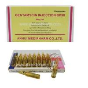 Gentamycin Sulphate Injection 80mg/2ml 10
