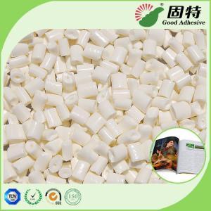 Cheap Milk White EVA Bookbinding Hot Melt Glue For High - Gram Coated Paper for sale