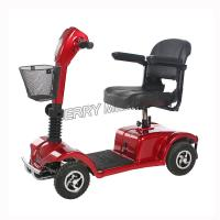 Durable Transportable Electric Mobility Scooter , 4 Wheel Electric Scooter Manufactures