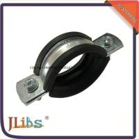 M8 Nut Pipe Clamp Fittings Metal Pipe Hangers 3 Inch Ventilation Pipe Clamp Manufactures