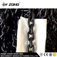 High Quality Lift Chain Manufacturer, High Load Iron Thick Black Lifting Chain Manufactures