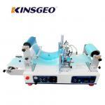1200×620×550mm Size Lab Continuous Hot Melt Coater , Hot Melt Coating Machine Digital Control Manufactures