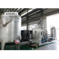 Electricity Saving Carbonated Filling Machine  With YHZ Type Mixer Used In Chiller And Warmer Manufactures