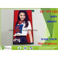 Buy cheap Thin Thickness and Narrow Wide 5.0 Inch 480x854 TFT LCD Screen from wholesalers