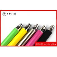 Lady Red 1300mah Ego C Twist Variable Voltage Electronic Cigarette With CE4 Clearomizer Manufactures