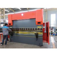 Buy cheap High Rigidity CNC Heavy Duty Hydraulic Press Brake Machine for Sheet Metal from wholesalers
