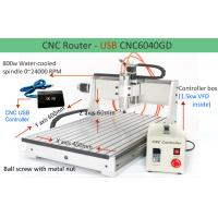 China CNC USB 3 Axis CNC6040 1.5KW Spindle 2.2KW Invert CNC Router Machine Engraver on sale