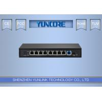 Buy cheap 8-Port Gigabit Un-Management PoE Switch 802.3at 48V Standard With +1*Gigabit Up from wholesalers