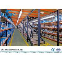 China Plywood Board Rack Supported Mezzanine Customized Size Metal Frame on sale