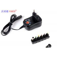 3 - 12V Adjustable Multi Voltage Power Adapter EU Plug PC ABS Material Manufactures