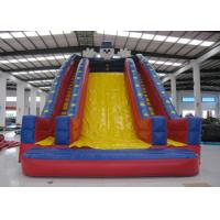 Quadruple Stitching Commercial Inflatable Water Slides Clown Design 12 X 6 X 9m Manufactures