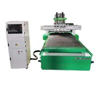 Buy cheap S1325 hsd spindle 4 process 4x8 cnc router for Furniture manufacturing from wholesalers