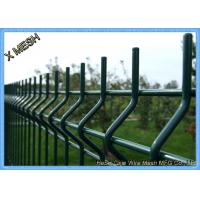 Perimeter Coated Welded Wire Fence Steel-P0004