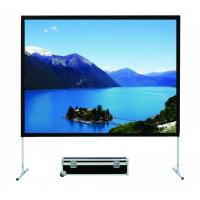 Big Size 200 Inch 4:3 Fast Fold Screens With Alumium Frame Carry Case HD Projector Screens Manufactures