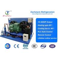 Cheap Air Cooled Bitzer Piston Condensing Commercial Refrigeration Units For Carrot Freeze Room for sale