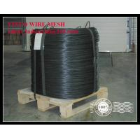 China Big Coil Black Annealed Iron Wire Q195 Machine Rolling on sale
