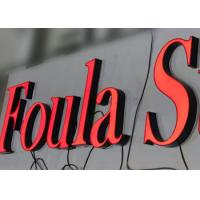 Clear Acrylic Alphabet Marquee 3D Lettering Signage Store Logos,halo illuminated Manufactures