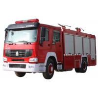 10CBM 4X2 290HP Fire Fighting Truck , Agricultural Fire Engine Truck For Landscaping Manufactures